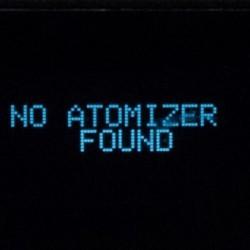 Почему не видит атомайзер?