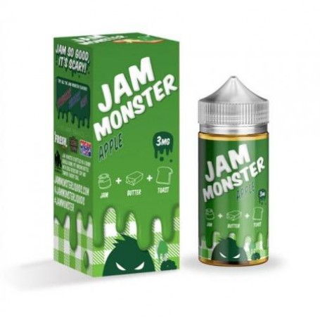 Жидкость Jam Monster Apple 100 мл (Clone)