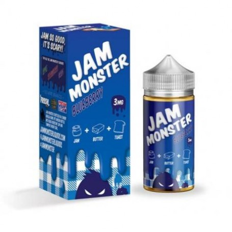 Жидкость Jam Monster Blueberry 100 мл (Clone)