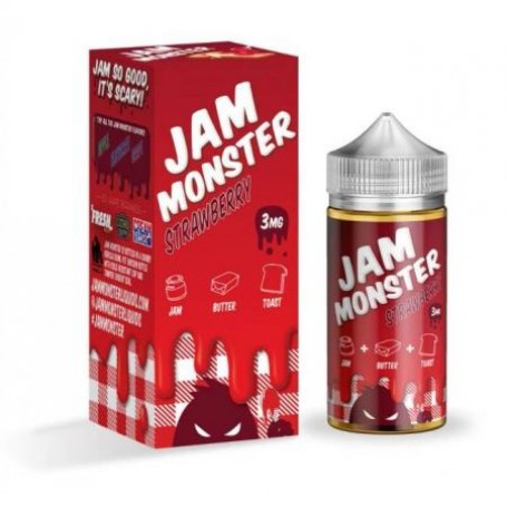 Жидкость Jam Monster Strawberry 100 мл (Clone)