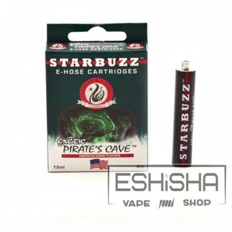 Картридж starbuzz для E-hose (pirates cave) (лимон/лайм)